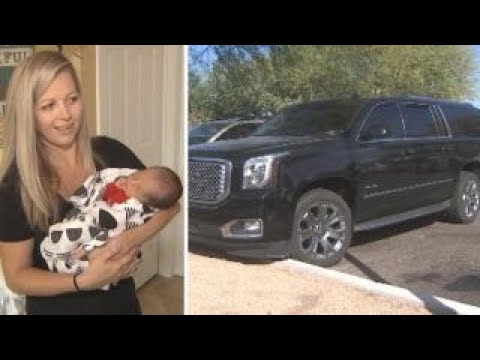 Woman delivers baby while driving herself to hospital