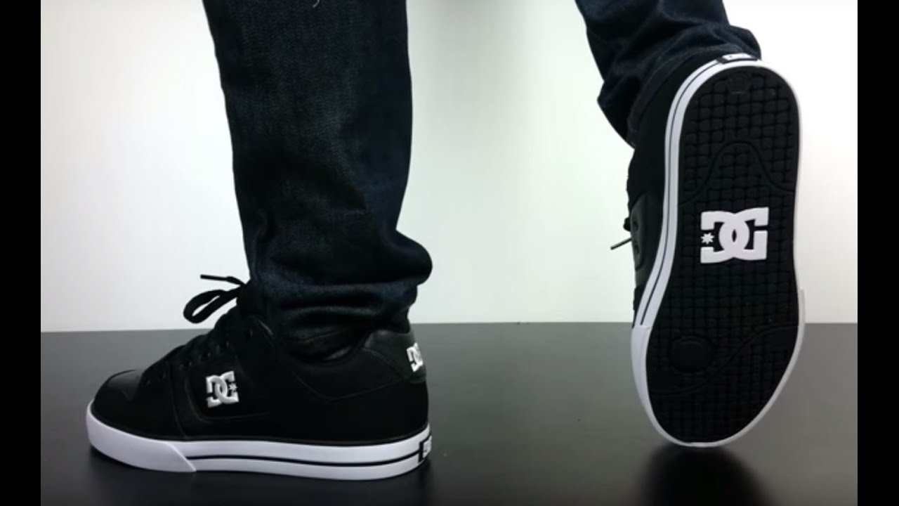 DC PURE black black white - YouTube