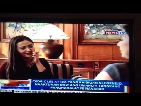 Deniece Cornejo interview by Ms. Kara David of GMA News To