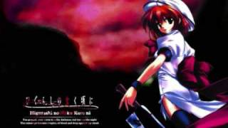 Two of Us by Ayako Ono. This song is not related to Higurashi No Na...