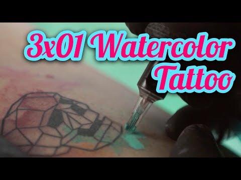 3x01 - Aprende a tatuar Acuarela (Learn Watercolor tattoo)