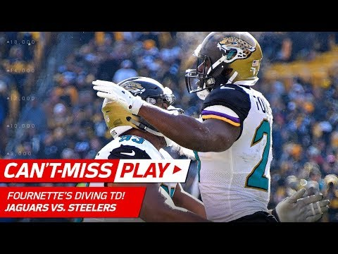 Leonard Fournette Soars Over the Line to Cap Off TD Drive!   Can