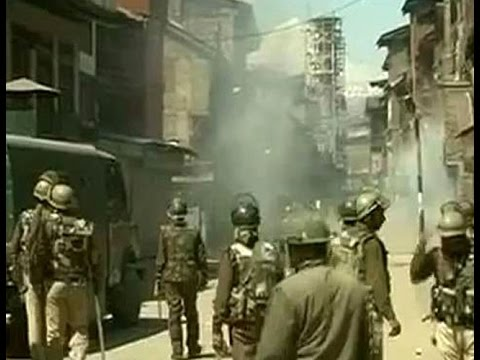 Yasin Malik arrested, clashes in Srinagar