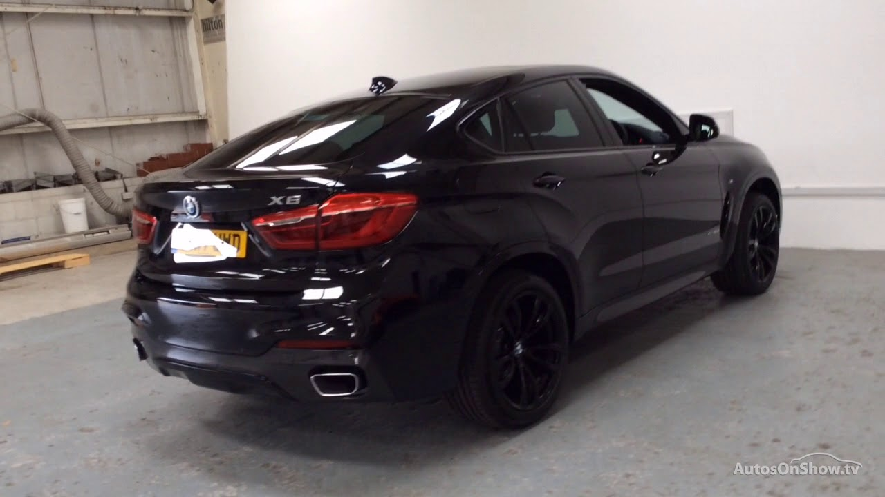 bmw x6 xdrive30d m sport black 2017 youtube. Black Bedroom Furniture Sets. Home Design Ideas