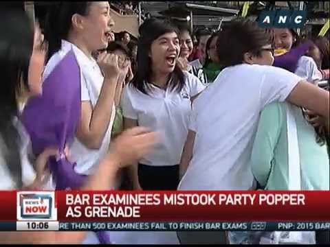 Despite commotion, authorities say 2015 bar exams a success