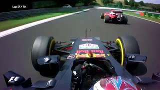 Verstappen Clashes With Raikkonen | 2016 Hungarian Grand Prix