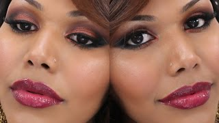 Bollywood Glam | Smokey Coppery Makeup Thumbnail