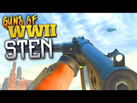 WILL THIS BE ONE OF THE BEST? - Weapons of COD: WW2 - STEN!