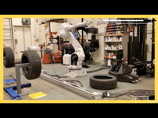Your next tire could be changed by a robot