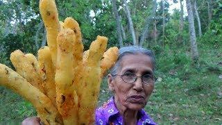 Village Foods ❤ Crispy Potato Fingers prepared in my Village by Grandma thumbnail