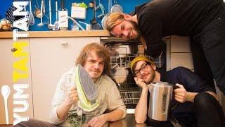 SPACE FROGS // Kochen mit Haushaltsgeräten // #yumtamtam