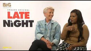 Emma Thompson and Mindy Kaling discuss comedy, GIFs, and a love for Emilia Clarke