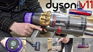 Dyson V11 Absolute Cordless Vacuum Unboxing & Demonstration