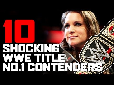Top 10 Shocking No 1 Contenders for the WWE Championship