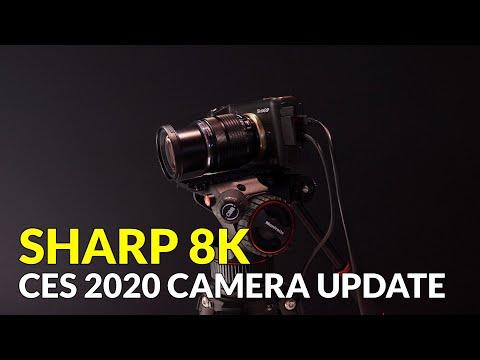 Sharp 8K Camera CES 2020 Update Information