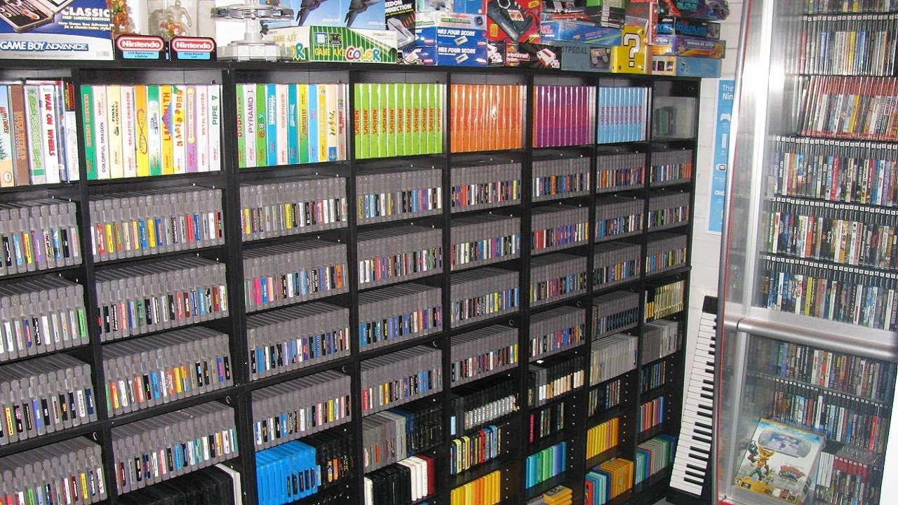 Resultado de imagen para retro gaming collection