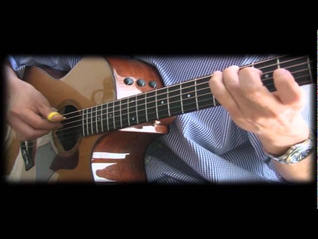 Kiss the Rain (Yiruma) - Fingerstyle Guitar Tab Chords - Chordify