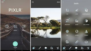 How to Use Pixlr -Photo Editor Android 2020