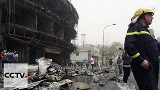 تفجيرات منطقة الكرادة وسط بغداد تسفر عن مئات القتلى والجرحى