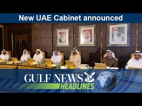 New UAE Cabinet announced - GN Headlines