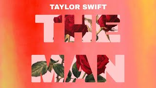 Edit tutorial - 7 - The Man cover art-Taylor Swift-Lover