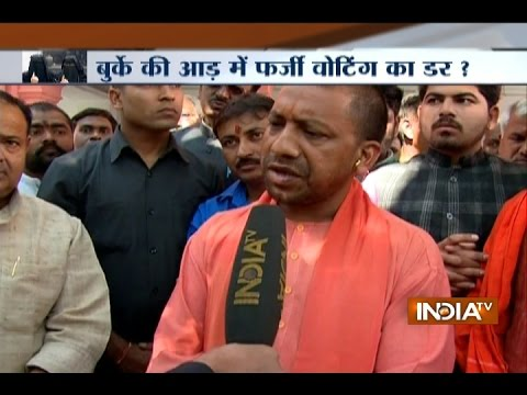 Yogi Adityanath says Burqa has often been Misused during Voting in UP Elections