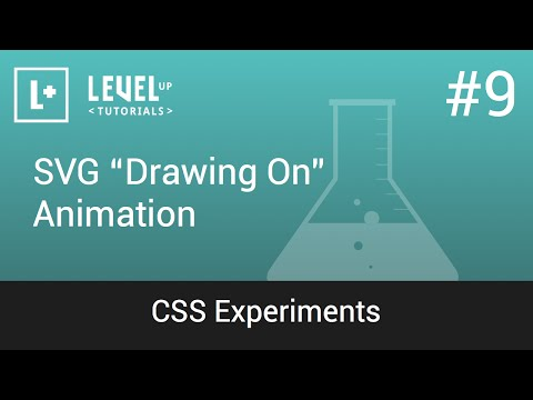 "#9 SVG ""Drawing On"" Animation - CSS Experiments"