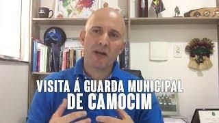 Erasmo Gomes - Visita á Guarda municipal de Camocim