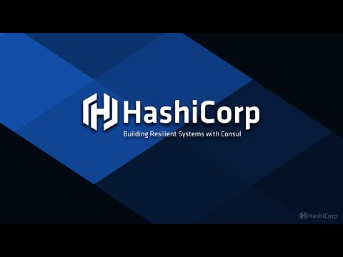 Building resilient systems with Consul by HashiCorp webinar