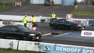 Toyota Supra Vs BMW M5-drag Race 1/4 Mile