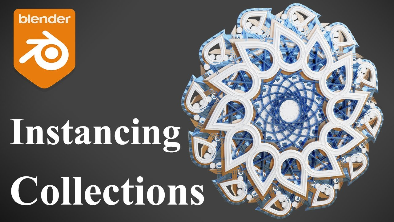 Blender Tutorial - Full Guide to Instancing Collections!