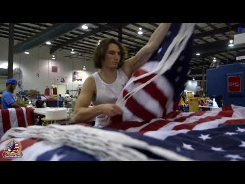 Made In USA: American Flag Manufacturing Behind The Scenes