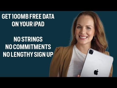 How to get FREE data for your iPad