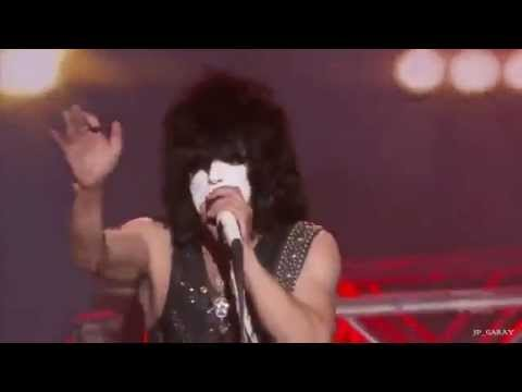 Caleb Johnson Performs With KISS On American Idol 2014 Finale