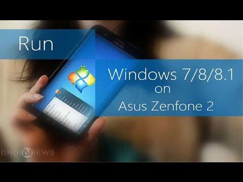 Cara menjalankan Windows 7 di Android terbaru 2017
