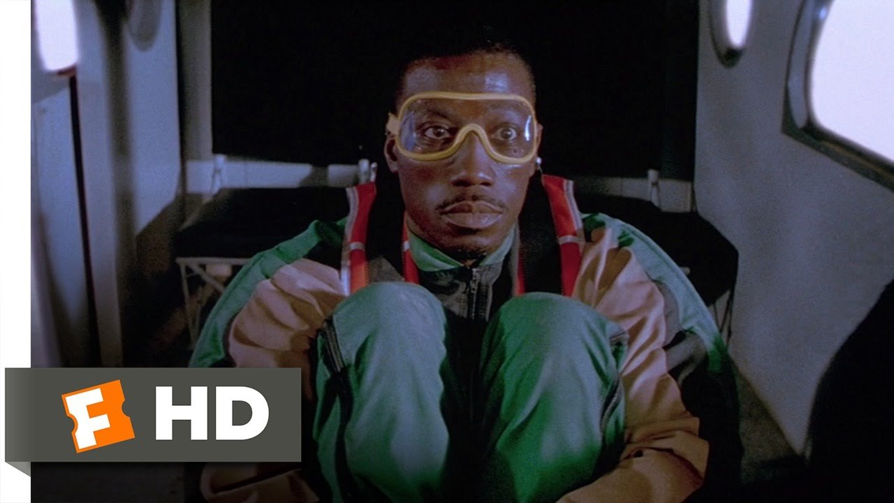 Download Drop Zone (2/9) Movie CLIP - You Fell, You Lived, I'm Gone (1994) HD