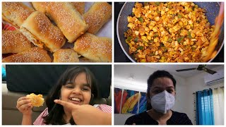 Weekend Breakfast, Lunch & Dinner Ideas | Special Dinner Routine vlog | Paneer Cheese Dinner Rolls