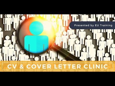 CV & Cover Letter Clinic