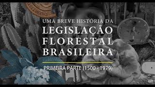 Uma breve história da legislação florestal brasileira primeira parte (1500 - 1979)