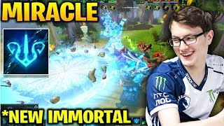 MIRACLE *New Storm Spirit Immortal Mandate of the Stormborn with RAMZES and MATUM at TI8