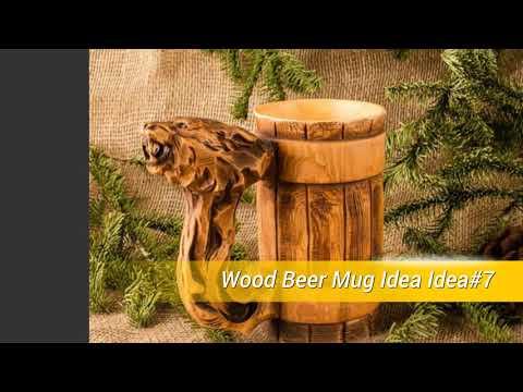 10 Wood Beer Mug Ideas