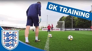 Four Keeper Drill, Crosses & More at Goalkeeper Training | Inside Training