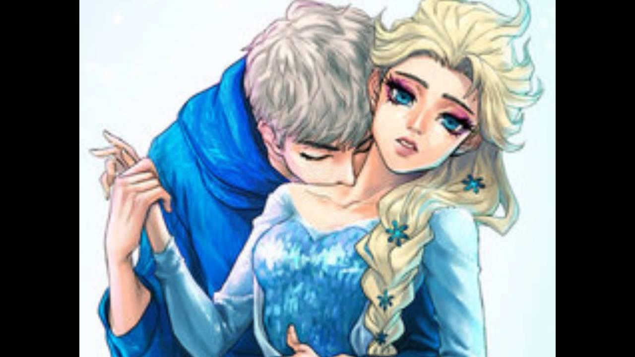 Disney Fall Wallpaper Elsa Amp Jack Frost Love Story Youtube