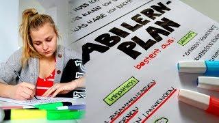 STRESSFREIES ABITUR: Lernplan erstellen! // Miss Aliana
