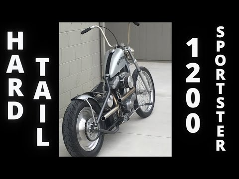 Repeat 2002 sportster chopper 1200 Hardtail hard tail by