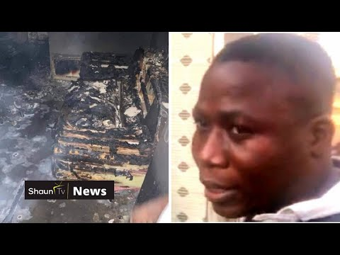 Sunday Igboho house is on fire in Ibadan 🔥