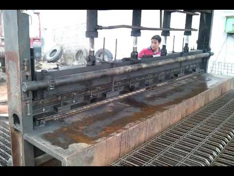 bending machine for fence panel