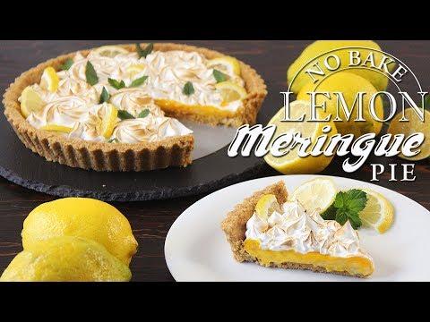No Bake Lemon Meringue Pie Recipe | How Tasty Channel
