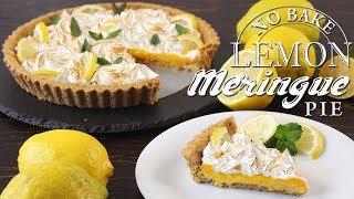 No Bake Lemon Meringue Pie Recipe  How Tasty Channel