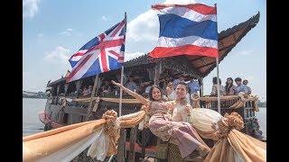 Richard & Jimlim Saturday Thai Wedding Ceremony, Family River house - Bangkok, Thailand